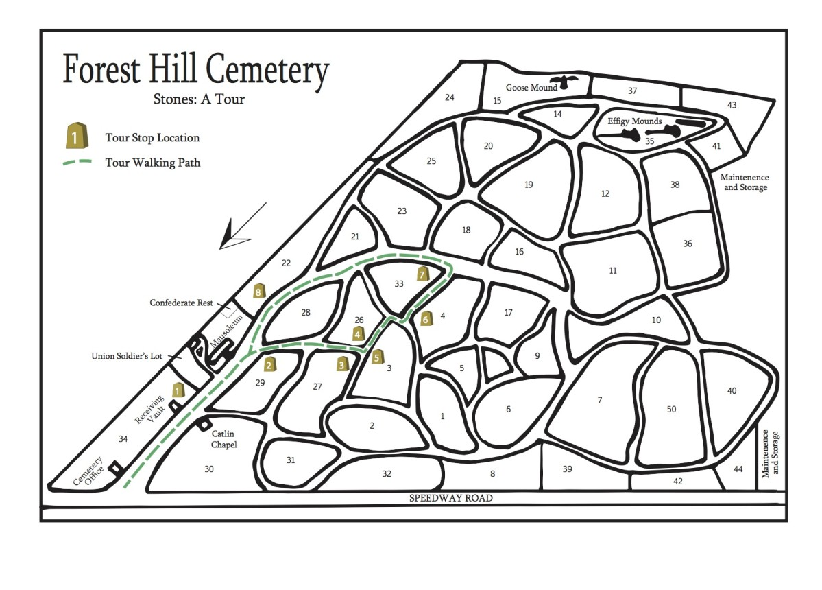 Stones - Forest Hill Cemetery: A Guide